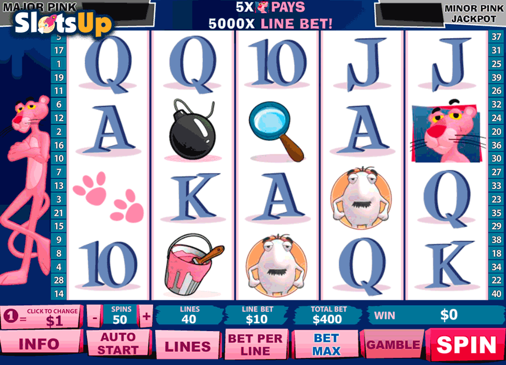 Pink Panther Slot Machine Online ᐈ Playtech™ Casino Slots