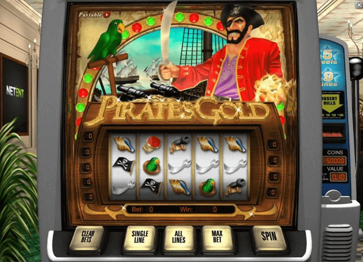 Pirates Gold Slot Machine - Try Playing Online for Free