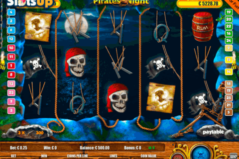 PIRATES NIGHT PORTOMASO CASINO SLOTS