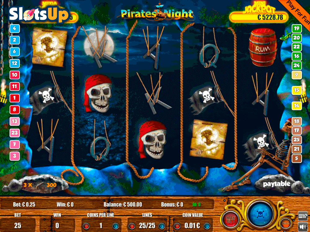 Pirates Night Slot Machine Online ᐈ Portomaso Gaming™ Casino Slots
