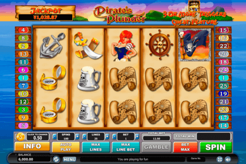 pirates plunder habanero slot machine