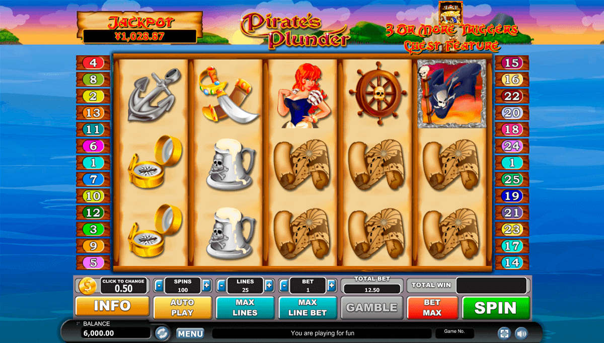 Pirates Plunder Slot Machine Online ᐈ Habanero™ Casino Slots