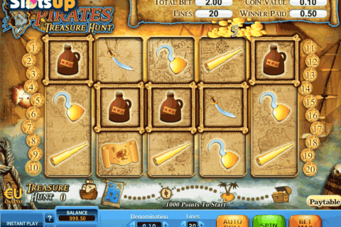 PIRATES TREASURE HUNT SKILLONNET CASINO SLOTS