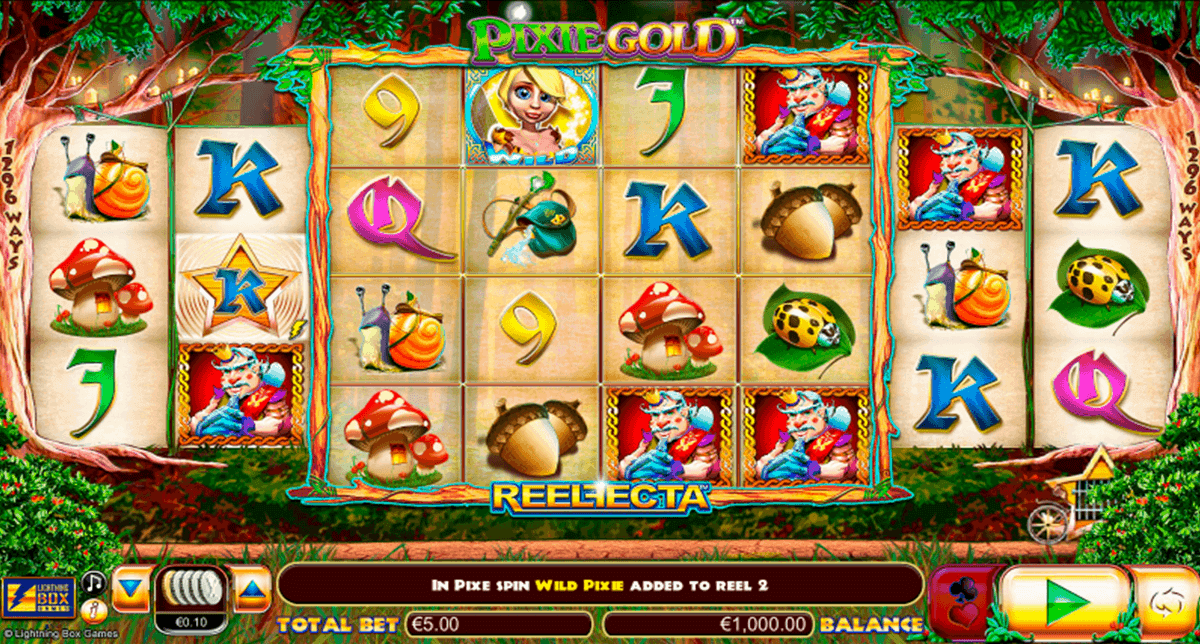 pixie gold lightning box casino slots