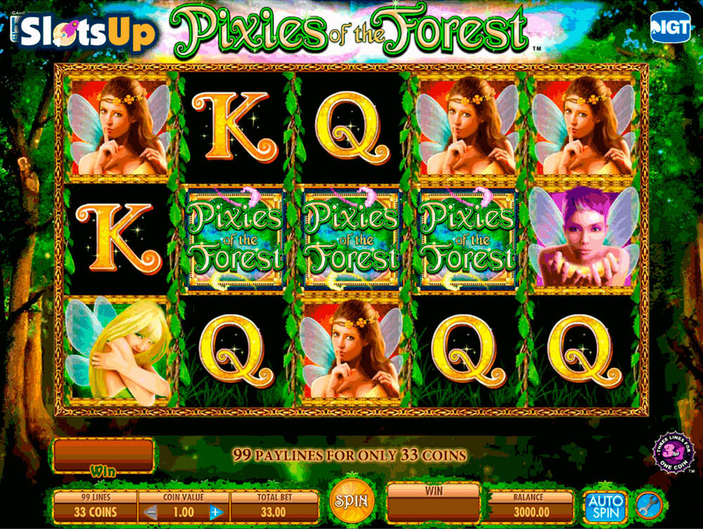 PIXIES OF THE FOREST IGT CASINO SLOTS