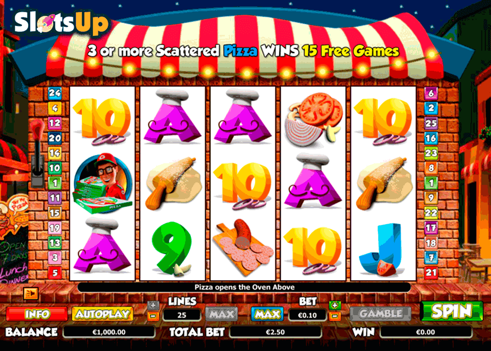 PIZZA PRIZE NEXTGEN GAMING CASINO SLOTS