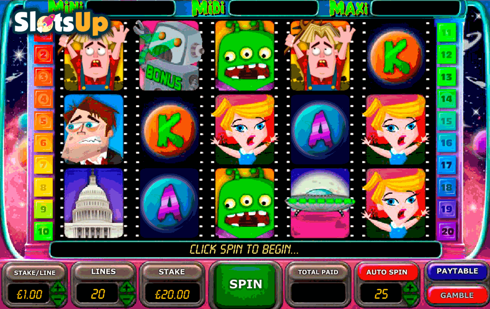Planet X Slot Machine - Try it Online for Free or Real Money