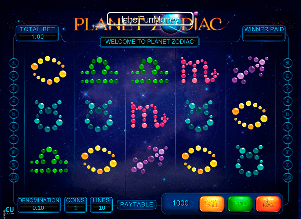 online slots that pay real money casino zodiac