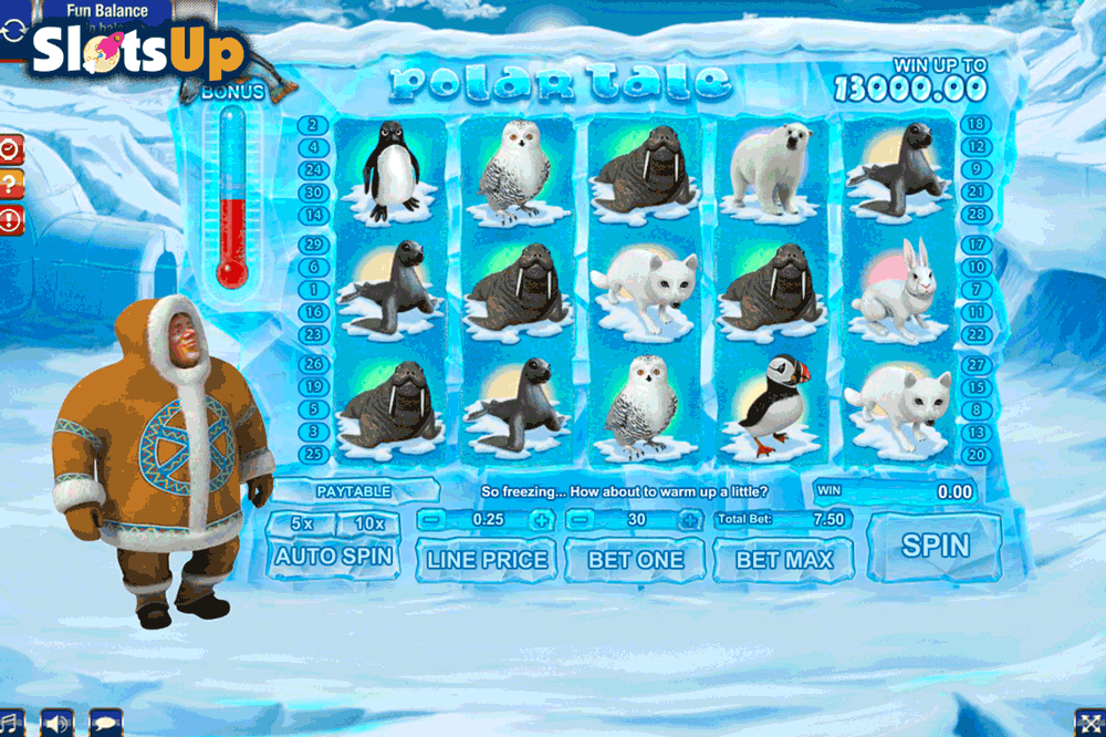 Polar Angler Slot Machine - Play Free Casino Slots Online