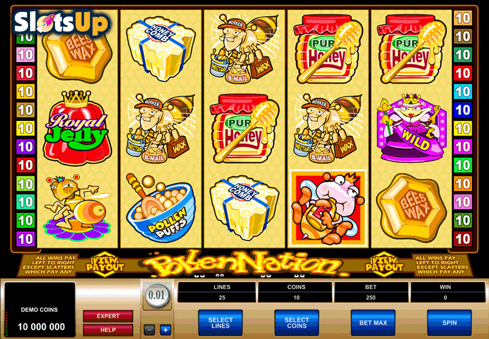 pollen nation microgaming casino slots