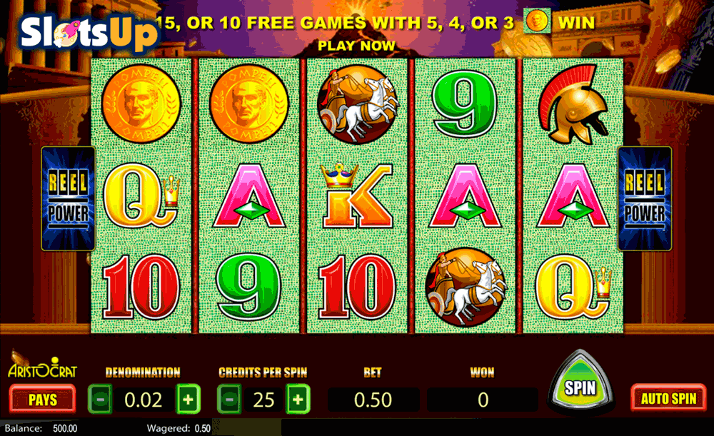 Pompeii Slots - Free Play & Real Money Casino Slots
