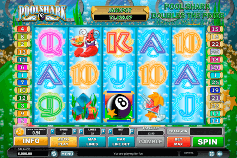 POOL SHARK HABANERO SLOT MACHINE