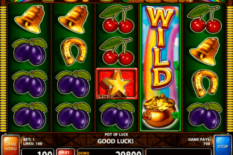 pot o luck casino technology slot machine
