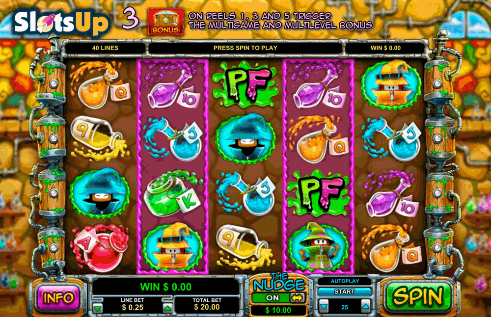 potion factory leander casino slots