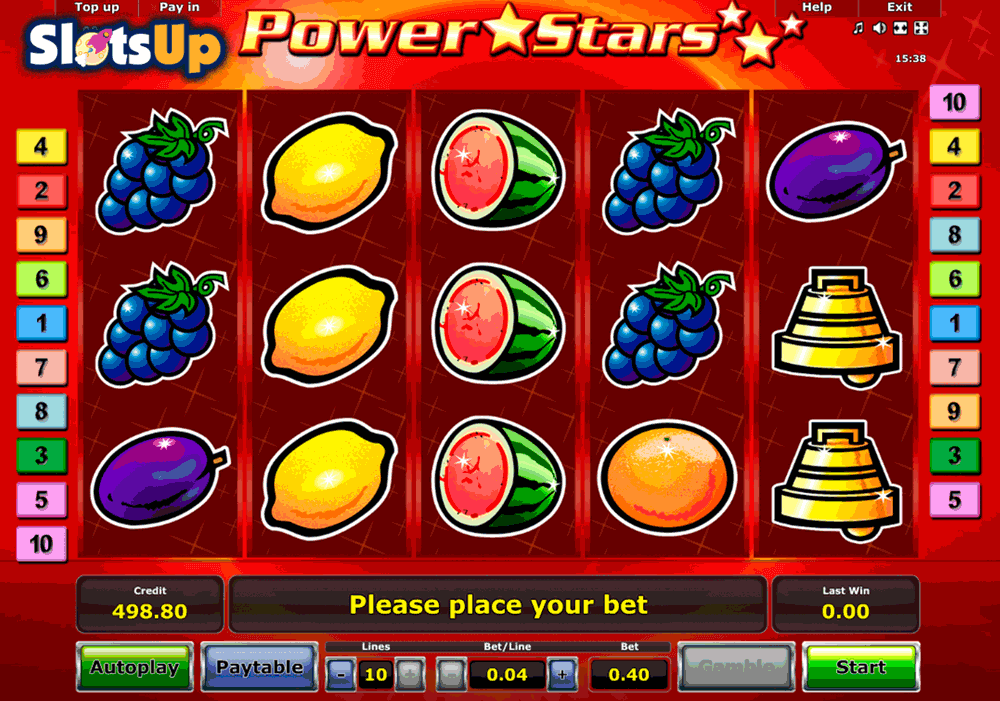 POWER STARS NOVOMATIC CASINO SLOTS