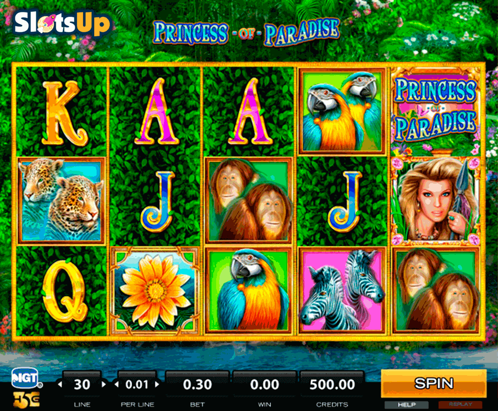PRINCESS OF PARADISE HIGH5 CASINO SLOTS