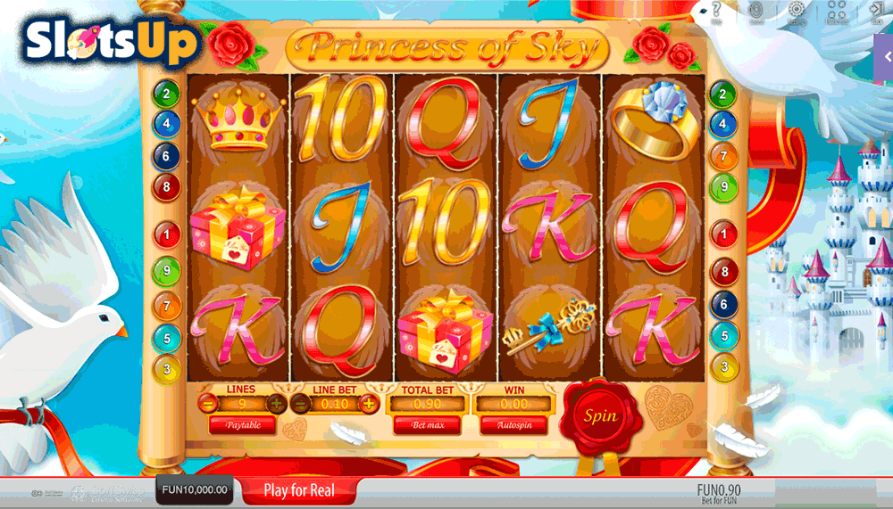 Princess of Sky Slot Machine Online ᐈ SoftSwiss™ Casino Slots