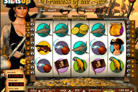PRINCESS OF THE SEA VISTA GAMING CASINO SLOTS