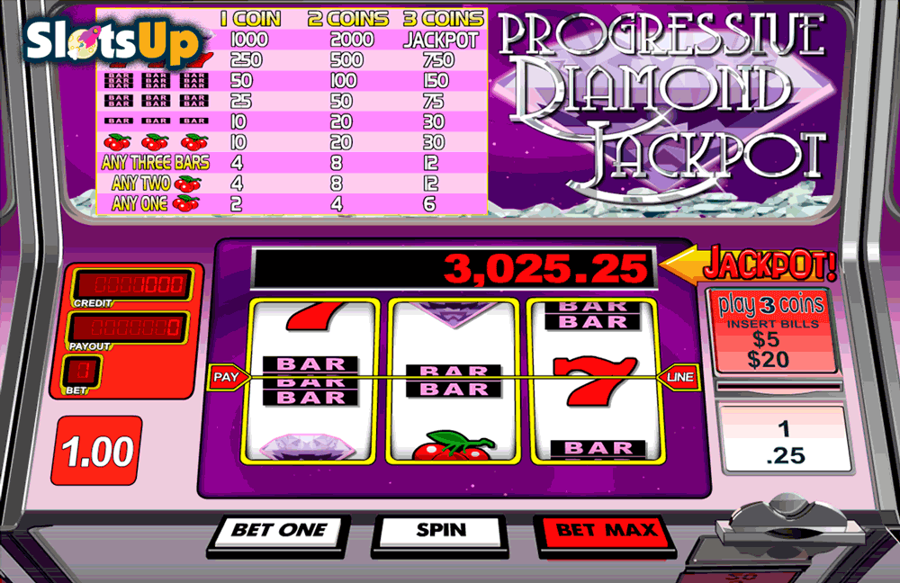 progressive diamond jackpot betsoft casino slots