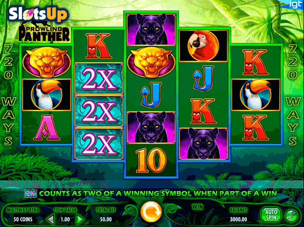 Prowling Panther Slots - Play Free IGT Slot Machines Online