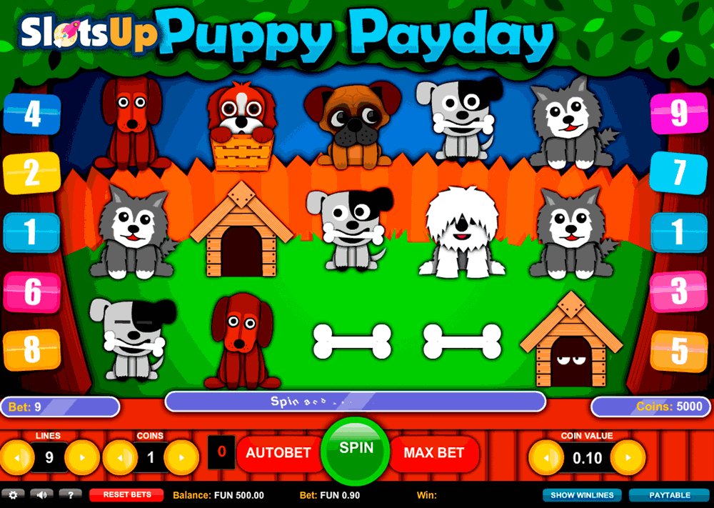 PUPPY PAYDAY 1X2GAMING CASINO SLOTS