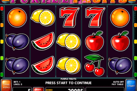 Purple Fruits Slot Machine - Play Real Casino Slots Online