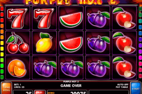 purple hot 2 casino technology slot machine