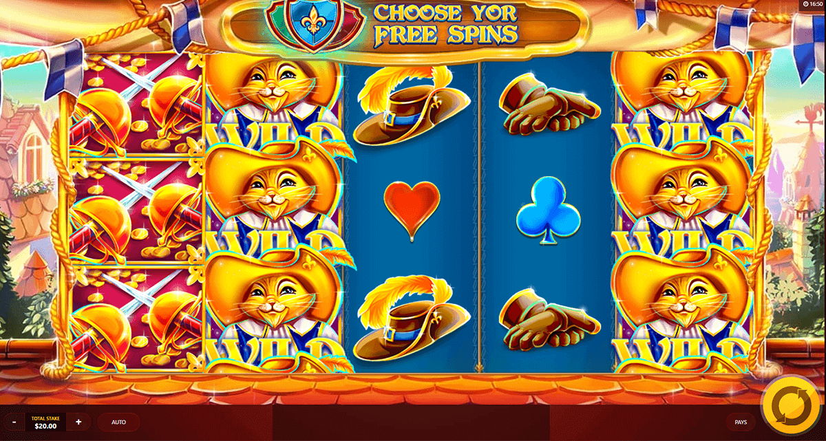 pussn boots red tiger casino slots