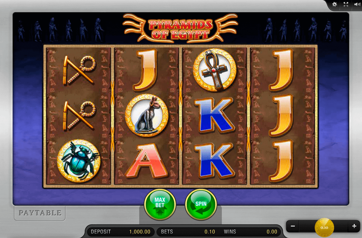PYRAMIDS OF EGYPT MERKUR CASINO SLOTS