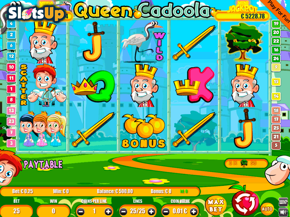 Queen Cadoola Slot Machine Online ᐈ Portomaso Gaming™ Casino Slots