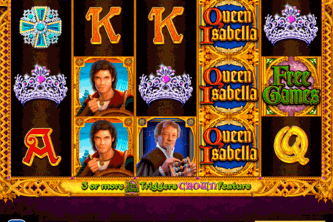 queen isabella high5 casino slots