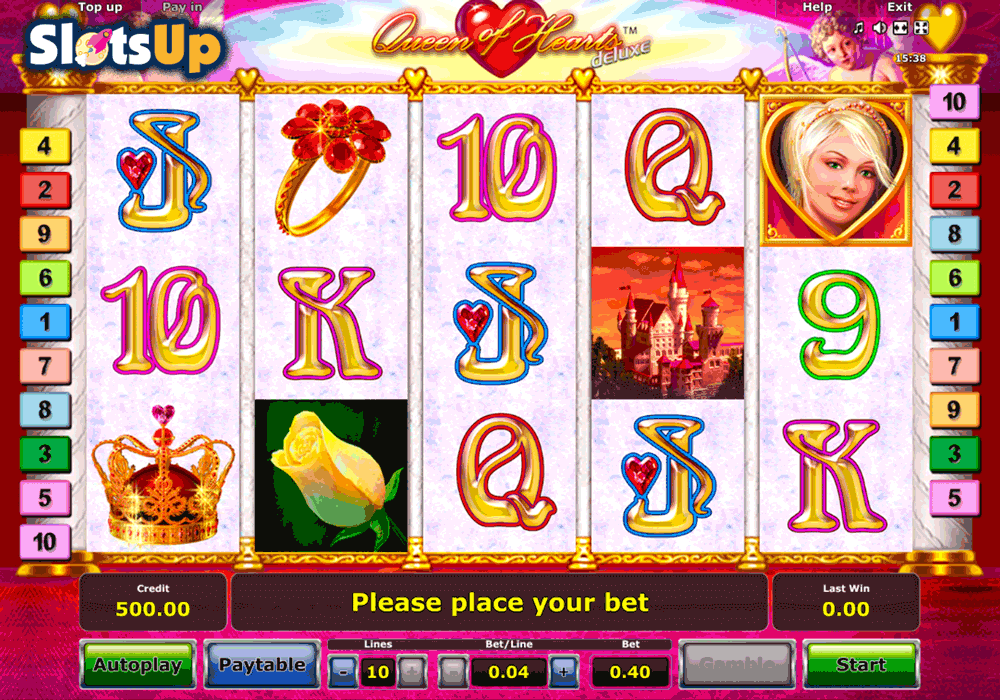 Play Queen of Hearts Deluxe for free Online | OVO Casino