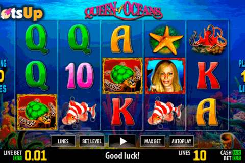 queen of oceans hd world match casino slots