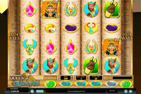 QUEEN OF QUEENS II HABANERO SLOT MACHINE
