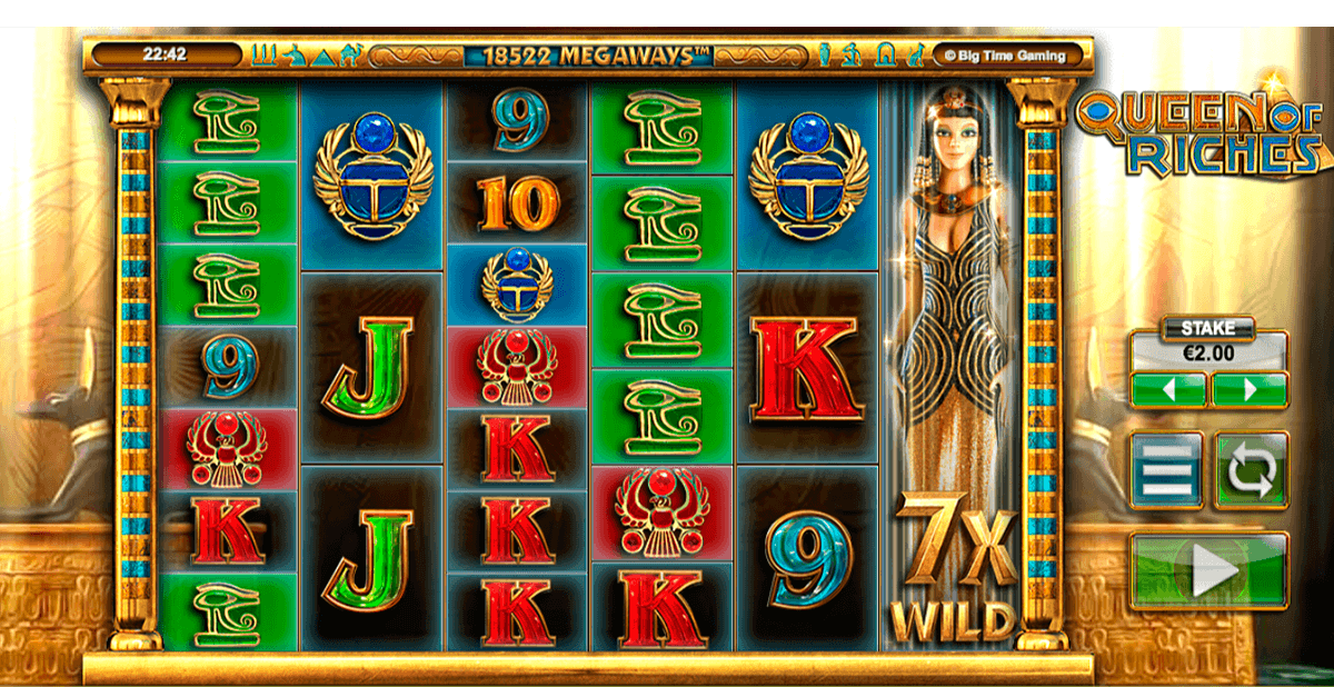 Queen of Riches Slot Machine - Play Penny Slots Online
