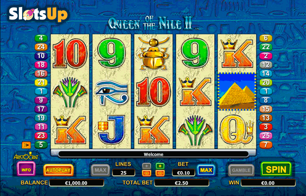Queen of Pyramids™ Slot Machine Game to Play Free in Playtechs Online Casinos