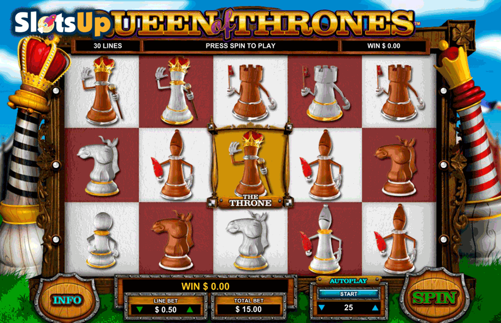 queen of thrones leander casino slots