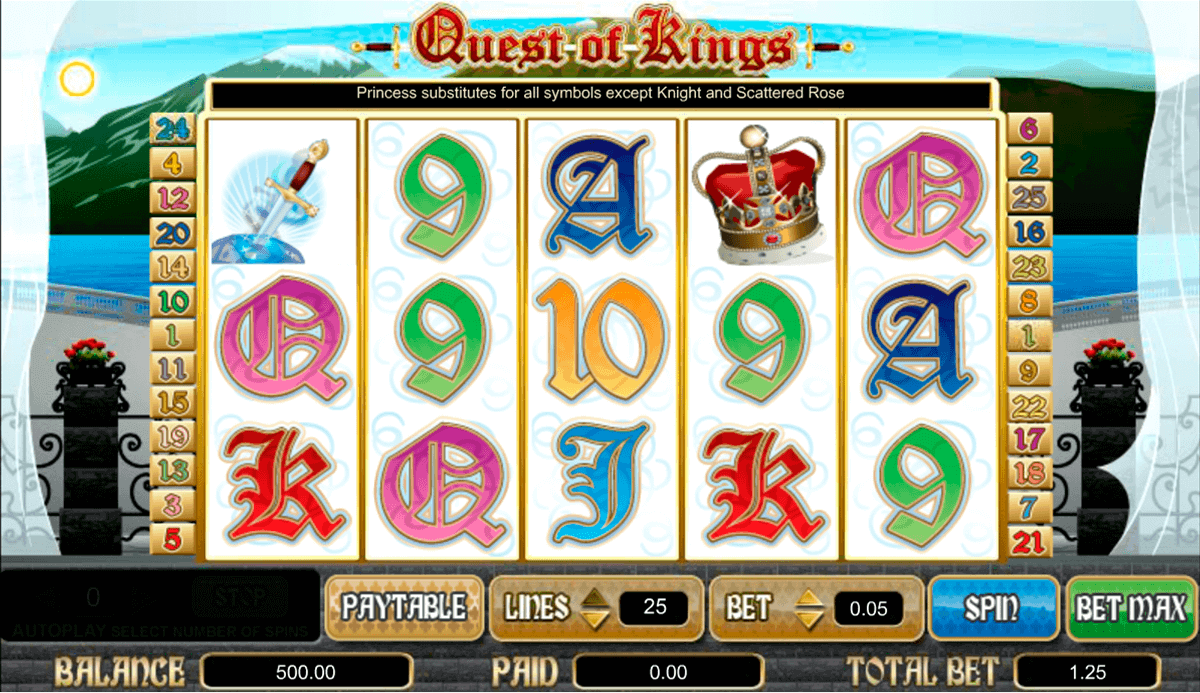 QUEST OF KINGS AMAYA CASINO SLOTS
