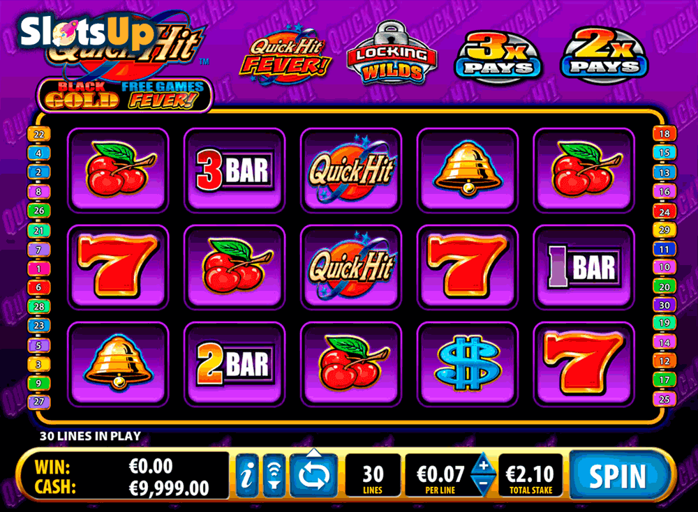 Quick Hit Black Gold™ Slot Machine Game to Play Free in Ballys Online Casinos