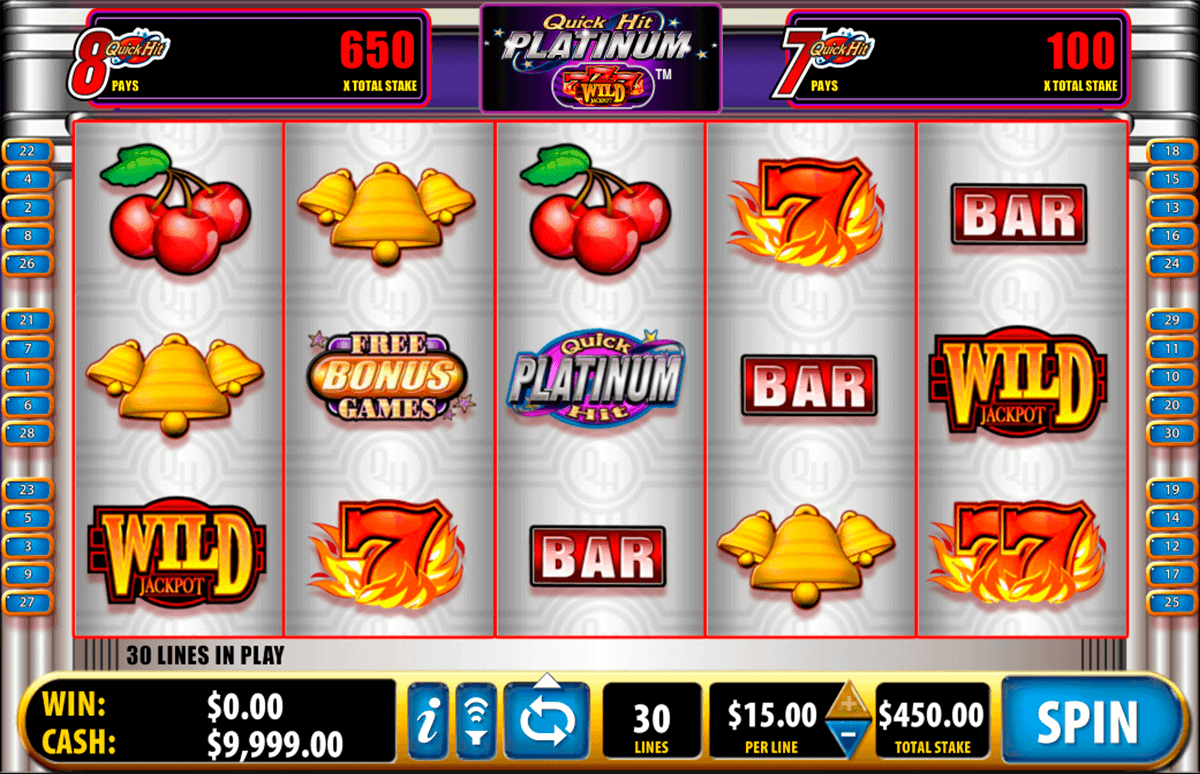 platinum casino games free games