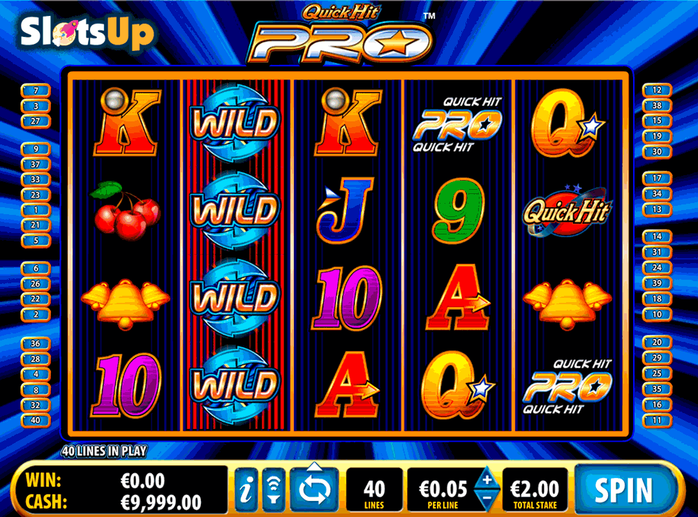 Quick Hit Pro Slot Machine