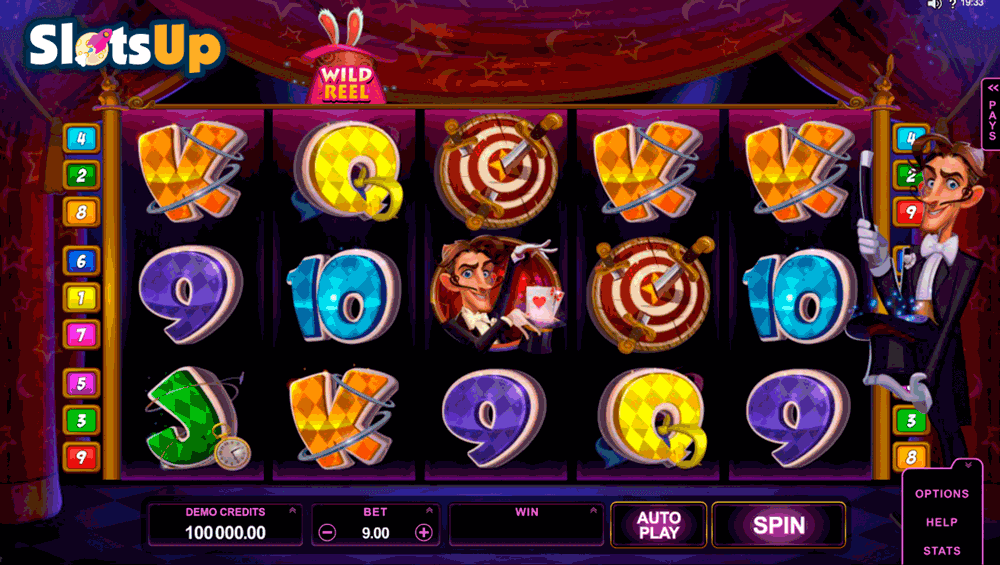 RABBIT IN THE HAT MICROGAMING CASINO SLOTS