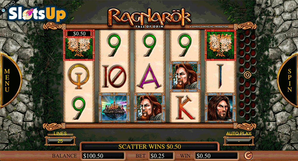 Ragnarok™ Slot Machine Game to Play Free in Genesis Gamings Online Casinos