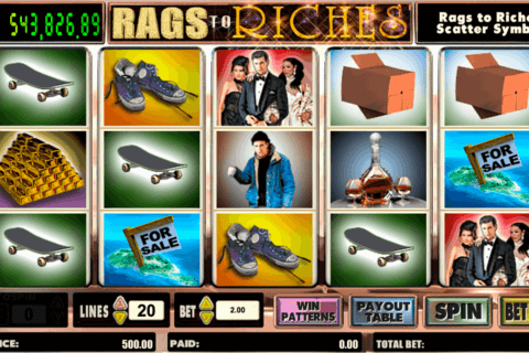 RAGS TO RICHES AMAYA CASINO SLOTS