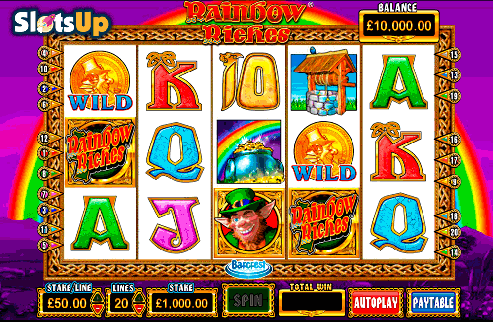 Rainbow Riches™ Slot Machine Game to Play Free in Barcrests Online Casinos