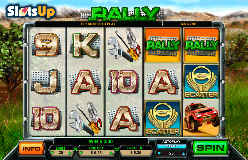 Gold Rally™ Slot Machine Game to Play Free in Playtechs Online Casinos