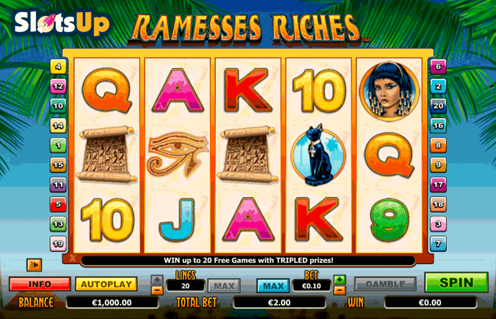 Ramesses Riches™ Slot Machine Game to Play Free in NextGen Gamings Online Casinos