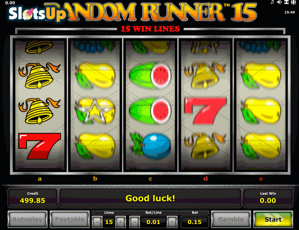 Runner Unlimited Slot Machine Review & Free Online Demo Game