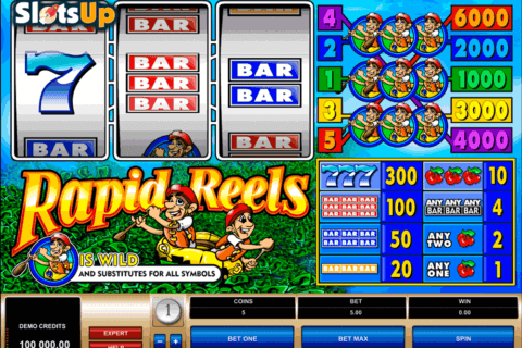 RAPID REELS MICROGAMING CASINO SLOTS