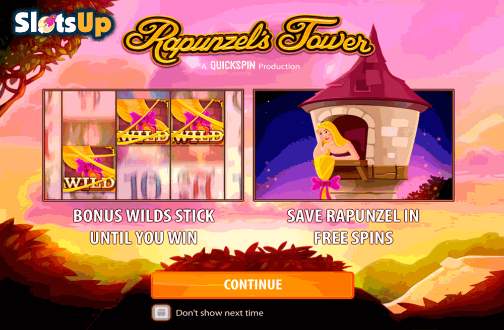 Rapunzels Tower Slot Machine Online ᐈ Quickspin™ Casino Slots